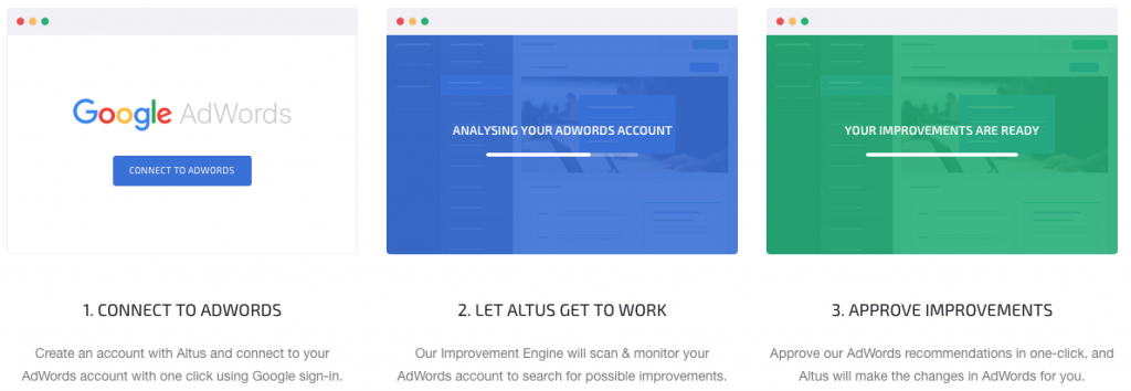 Altus.io - tools for SEO optimization